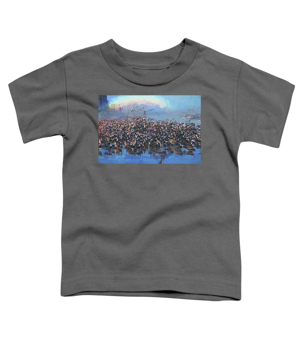 Alicegipsonphotographs Toddler T-Shirt featuring the photograph The Hint Of A Rainbow by Alice Gipson