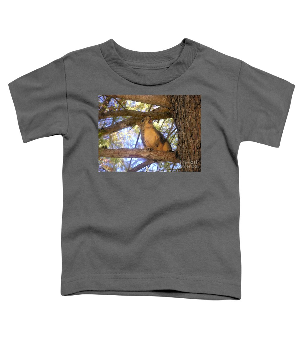 Nature Toddler T-Shirt featuring the photograph The Winner by Lucyna A M Green