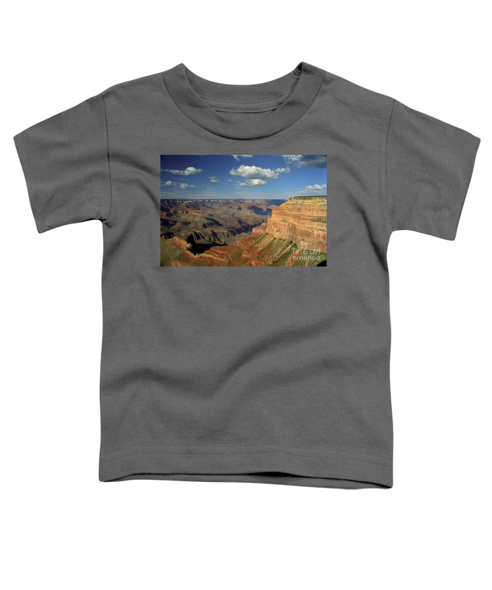 Grand Canyon Toddler T-Shirt featuring the photograph This Is My Father's World by Kathy McClure