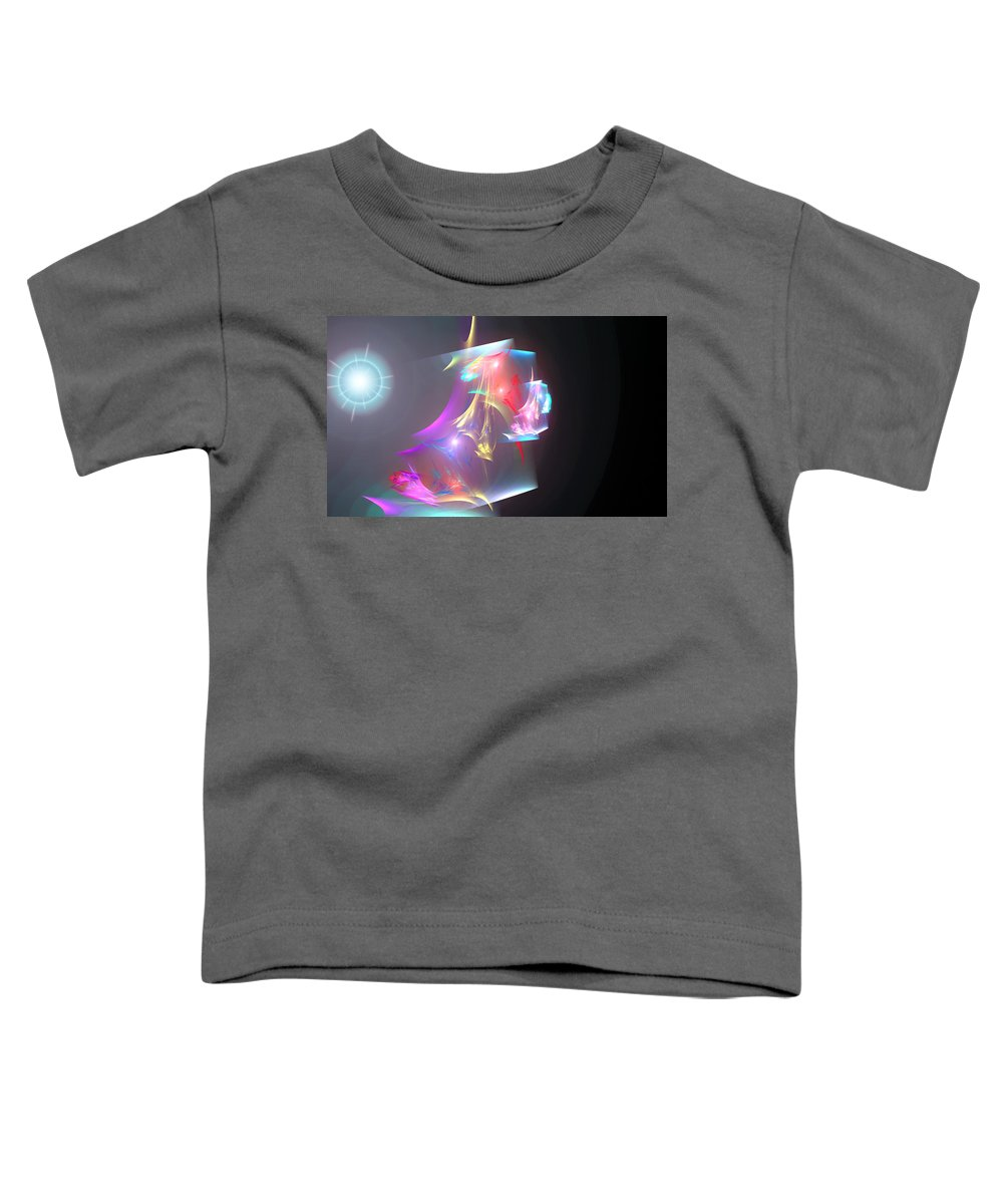 Torn Toddler T-Shirt featuring the digital art Torn Canvas by Brainwave Pictures