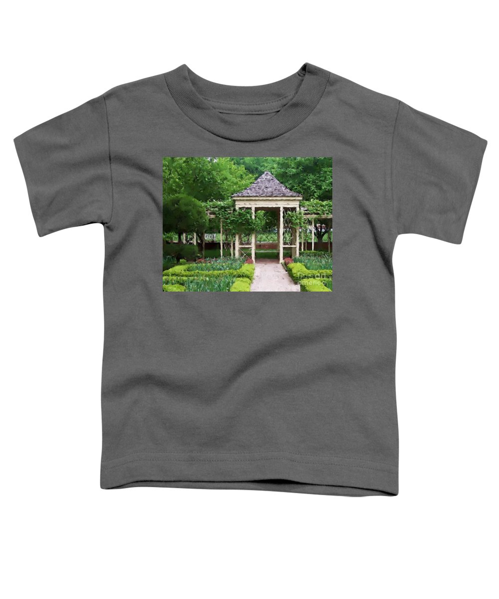 Garden Toddler T-Shirt featuring the photograph Tranquil by Debbi Granruth