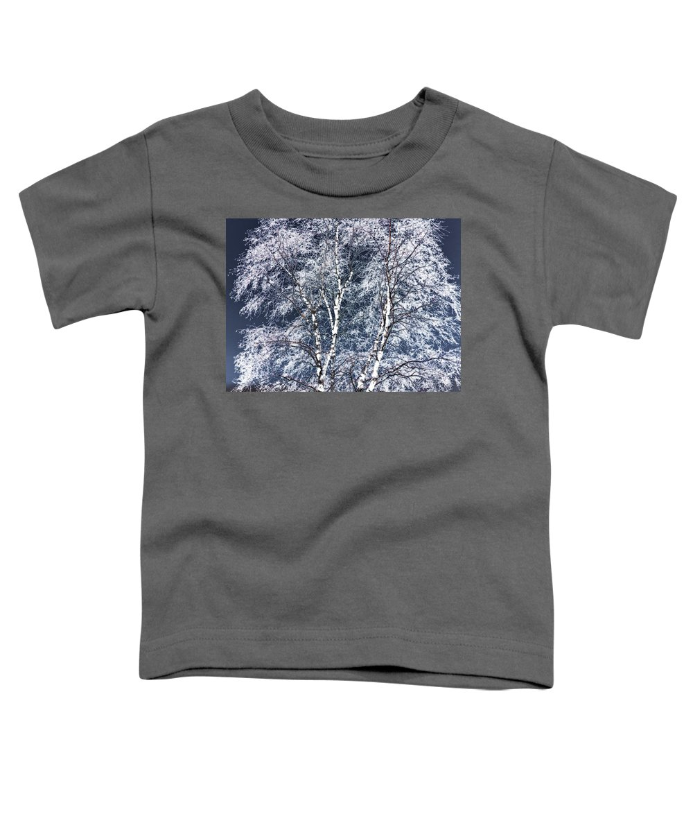 Tree Toddler T-Shirt featuring the digital art Tree Fantasy 14 by Lee Santa