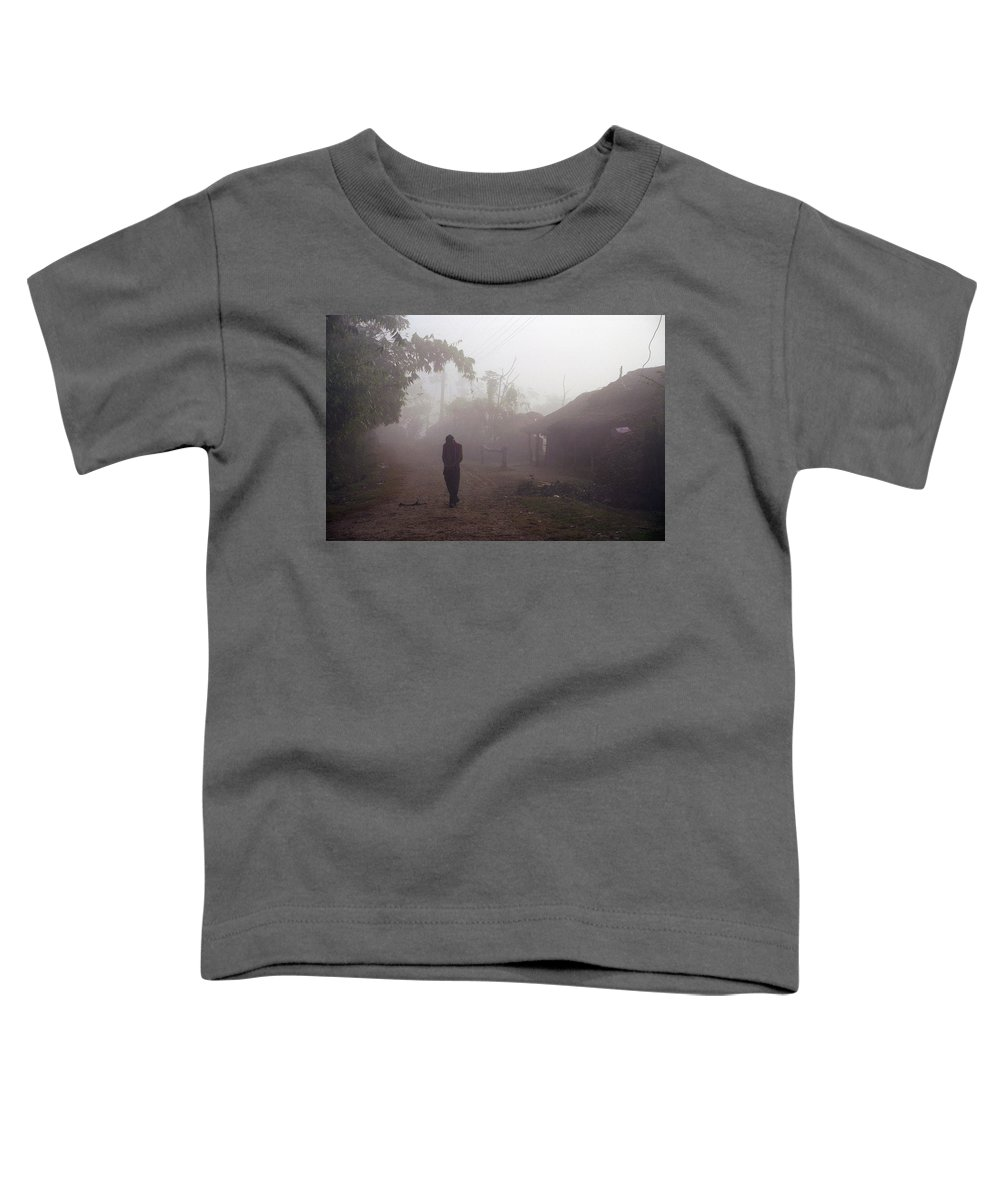 Nepal Toddler T-Shirt featuring the photograph Tristesse by Patrick Klauss