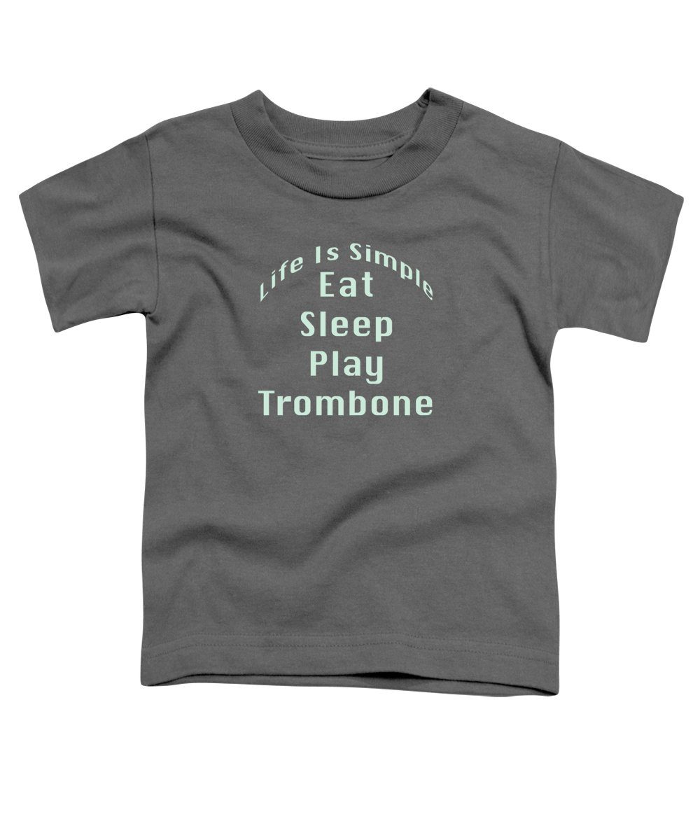 Trombone Toddler T-Shirts