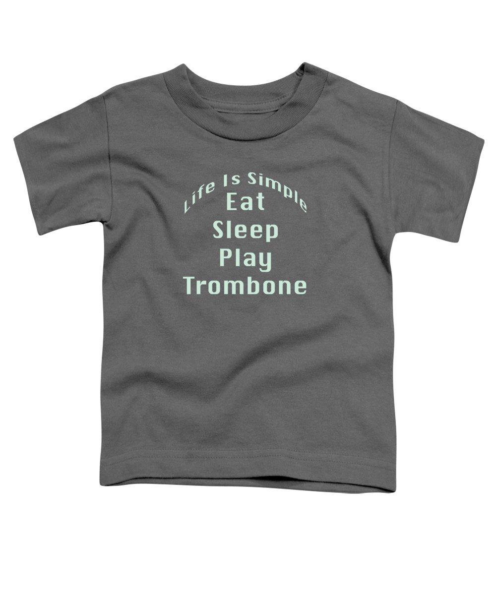 Trombone Toddler T-Shirts