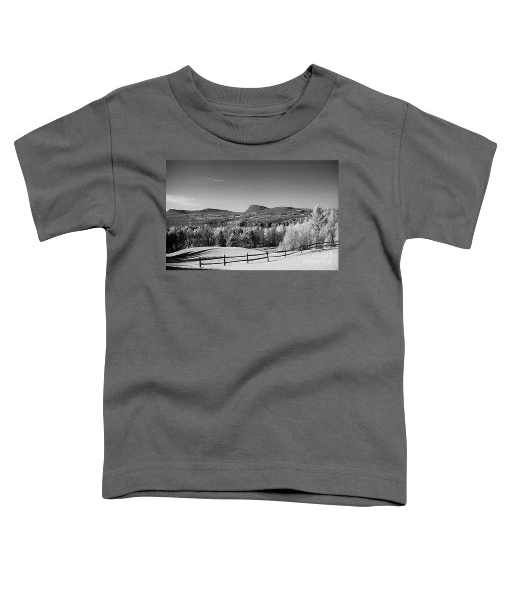 Landscape Toddler T-Shirt featuring the photograph View Of Lake Willoughby by Richard Rizzo