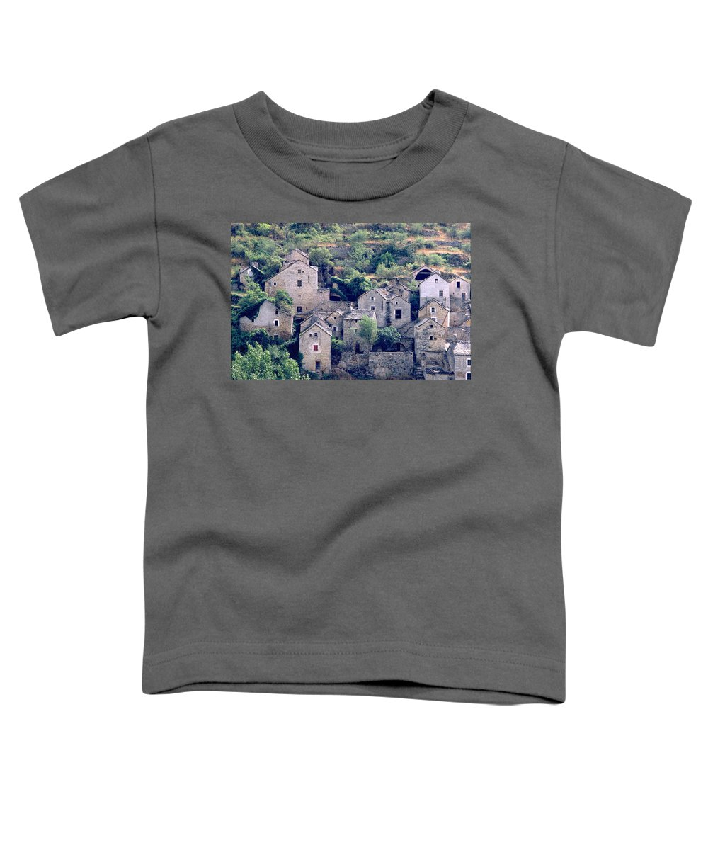 Village Toddler T-Shirt featuring the photograph Village by Flavia Westerwelle