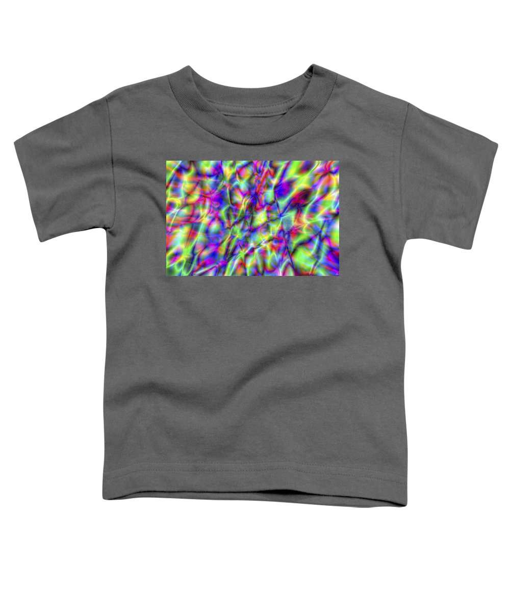 Crazy Toddler T-Shirt featuring the digital art Vision 6 by Jacques Raffin