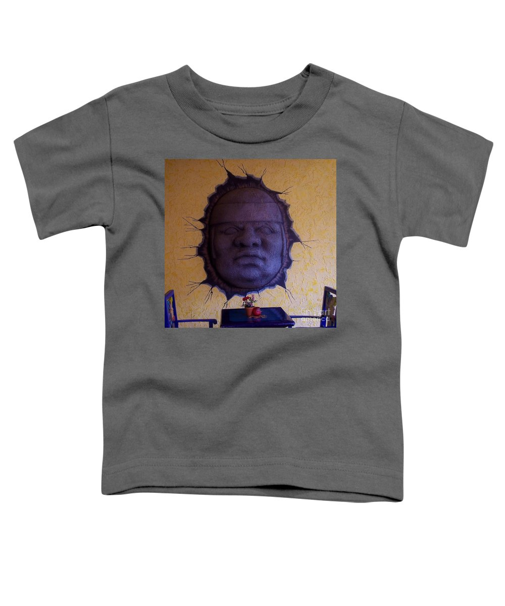 Face Toddler T-Shirt featuring the photograph Watch What You Eat by Debbi Granruth