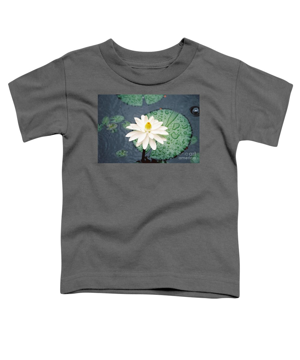 Flowers Toddler T-Shirt featuring the photograph Water Lily by Kathy McClure
