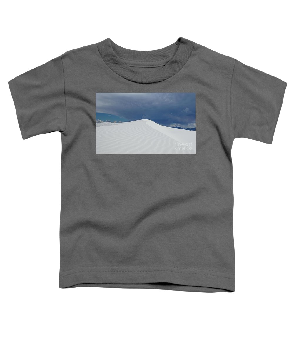 White Sands National Monument Toddler T-Shirt featuring the photograph White Sands II by DiFigiano Photography
