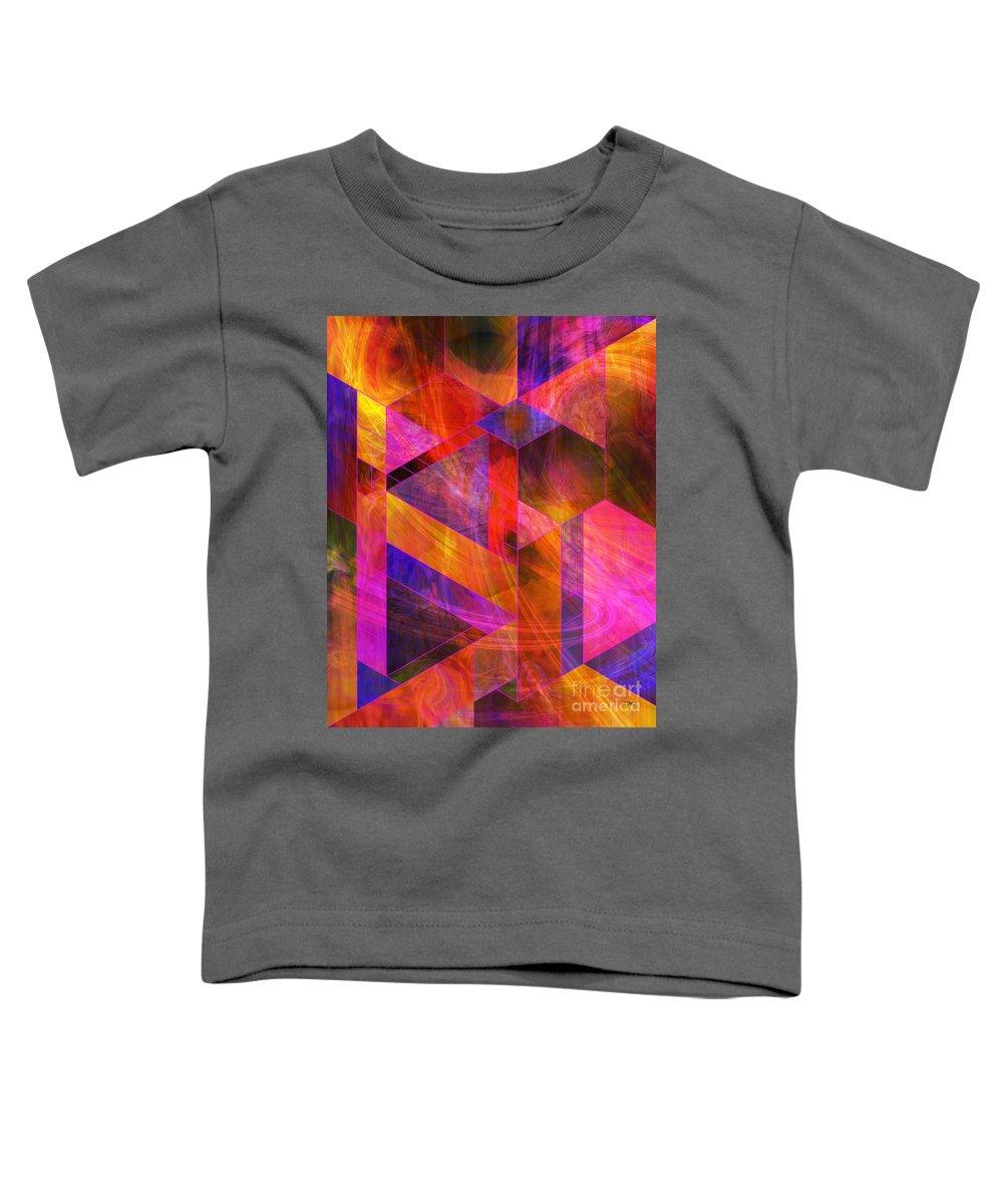 Wild Fire Toddler T-Shirt featuring the digital art Wild Fire by John Beck