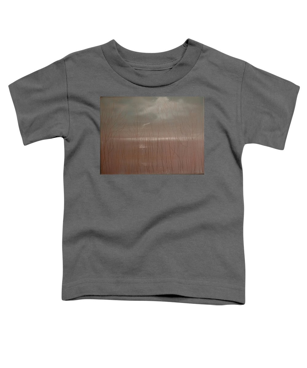 Dusk Toddler T-Shirt featuring the painting Winter Of Hope by Jack Diamond