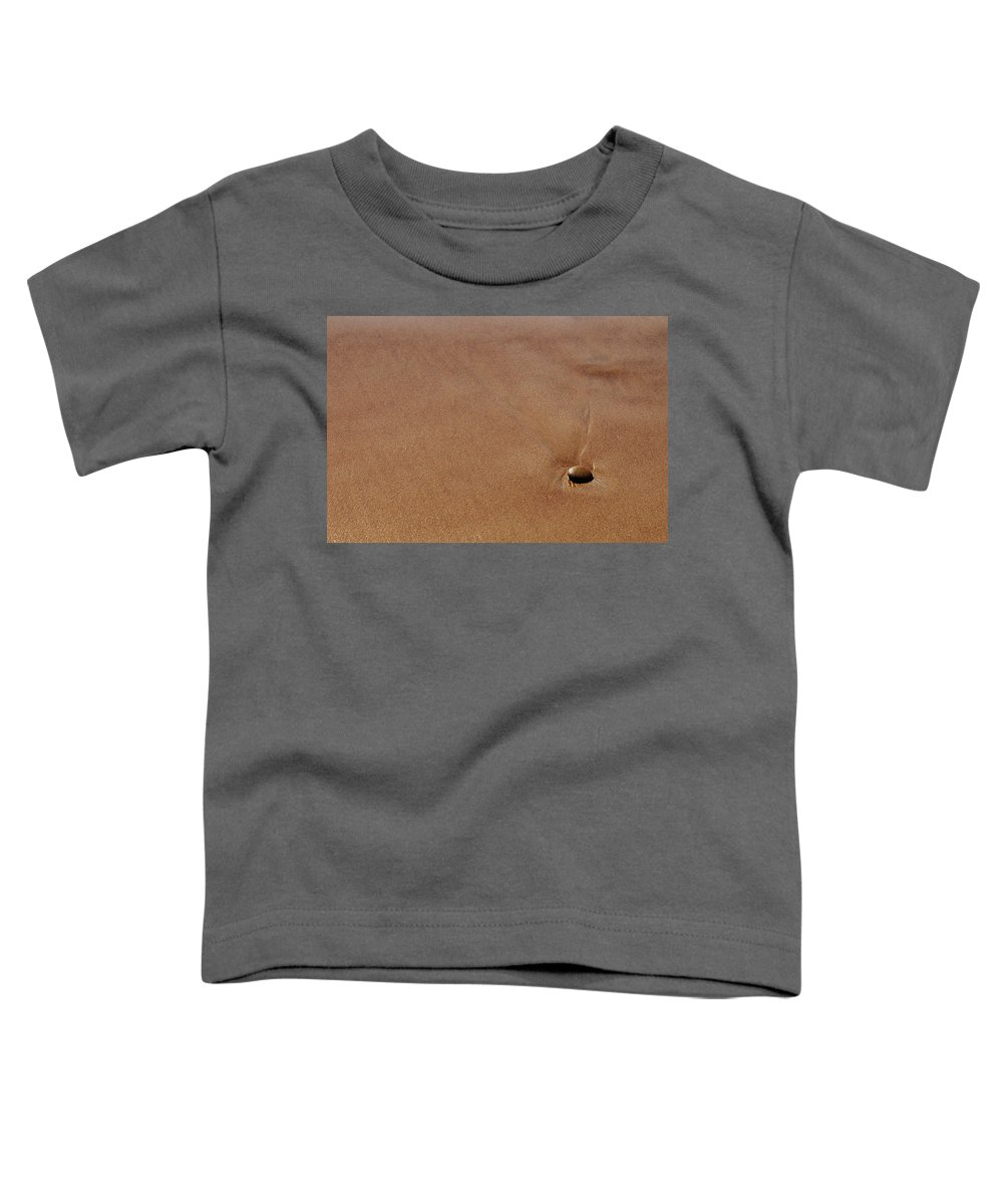 Clay Toddler T-Shirt featuring the photograph Zen At The Beach by Clayton Bruster