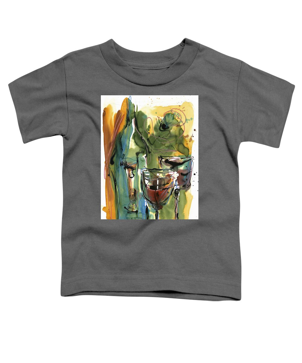Wine Toddler T-Shirt featuring the painting Zin-findel by Robert Joyner
