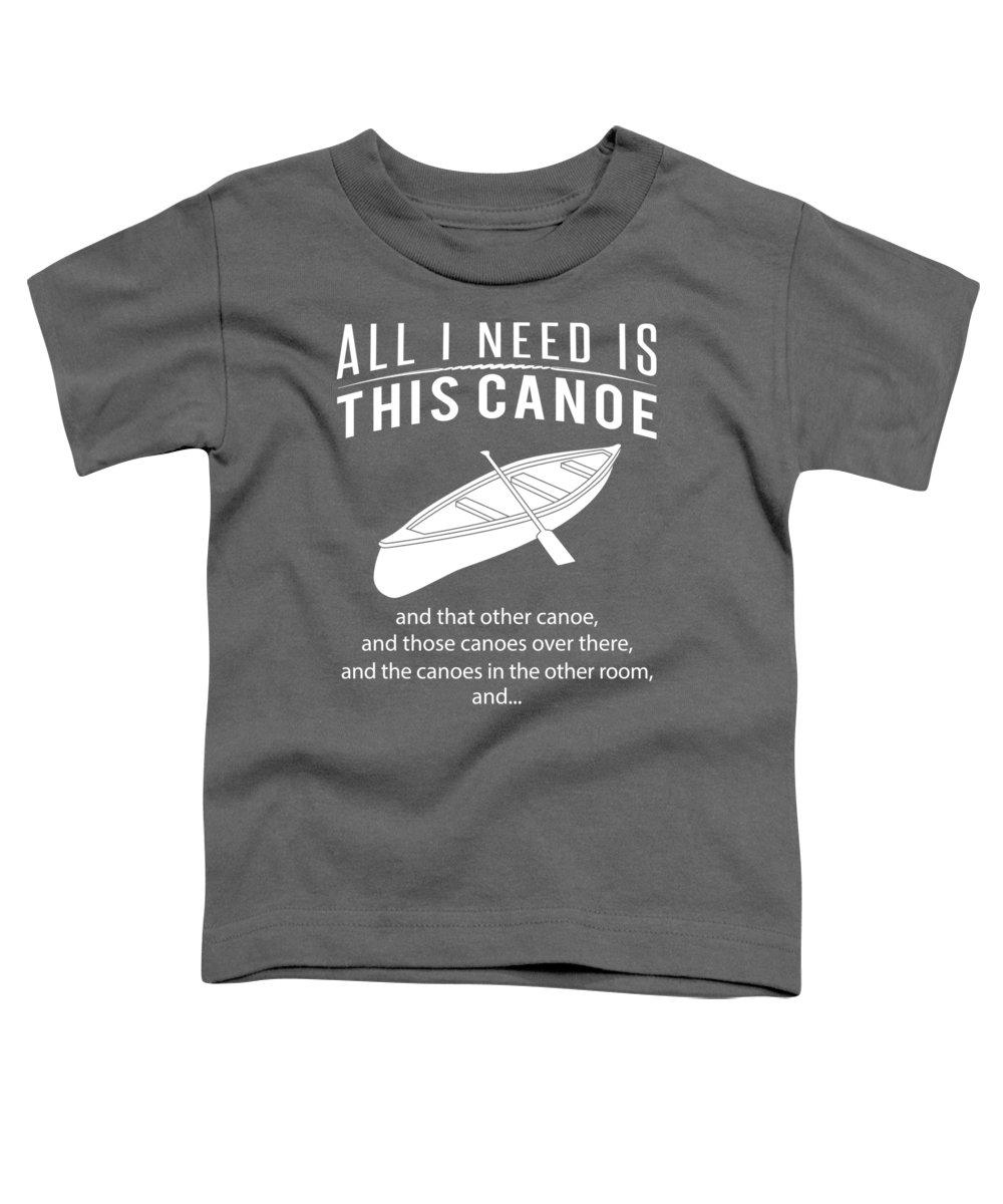 Canoe Toddler T-Shirts