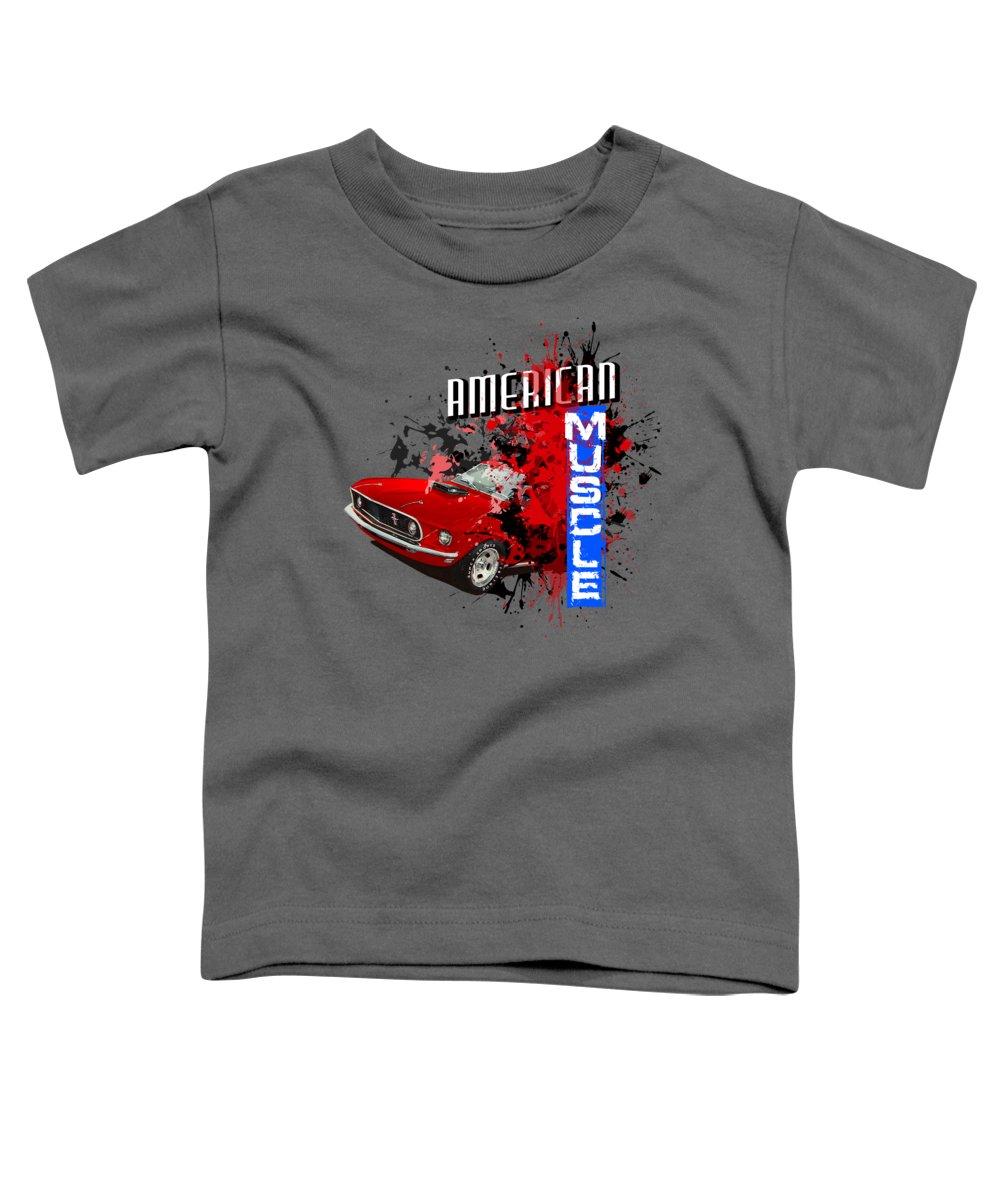 Fastback Mixed Media Toddler T-Shirts