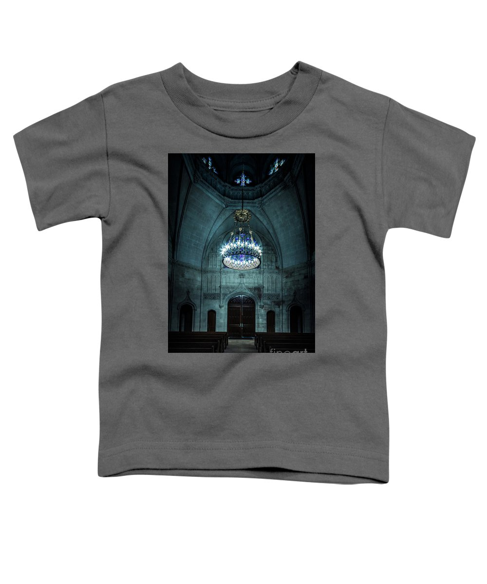 Kremsdorf Toddler T-Shirt featuring the photograph Be The Light by Evelina Kremsdorf
