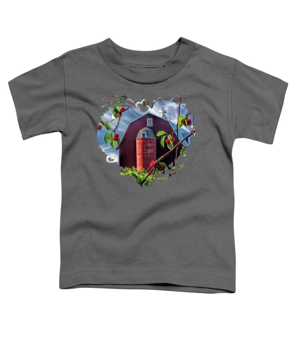 Cherry Toddler T-Shirts