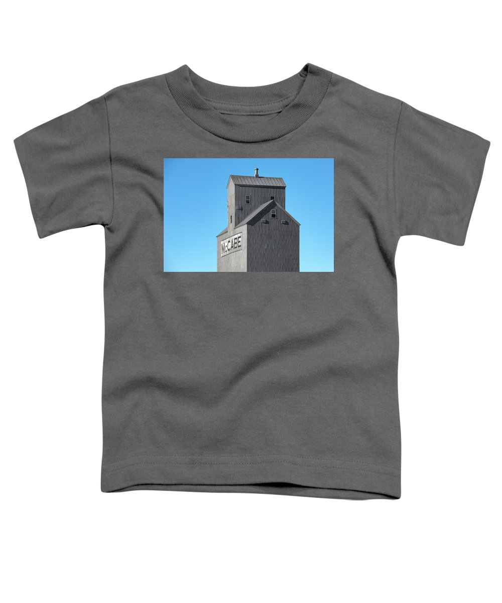 Mccabe Toddler T-Shirt featuring the photograph Mccabe Elevator by Todd Klassy
