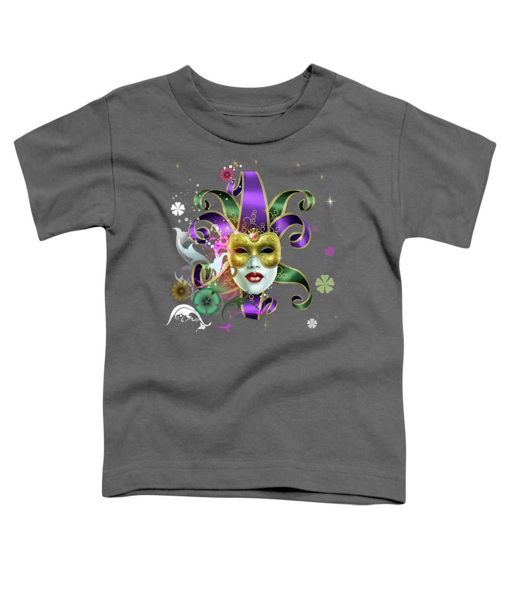 Glow Mixed Media Toddler T-Shirts