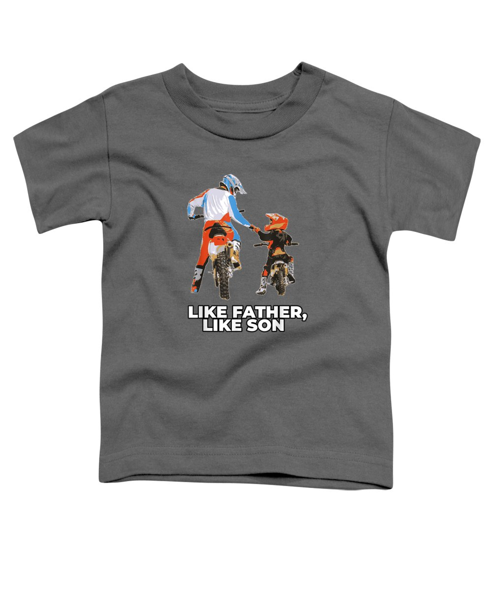 Transportation Digital Art Toddler T-Shirts