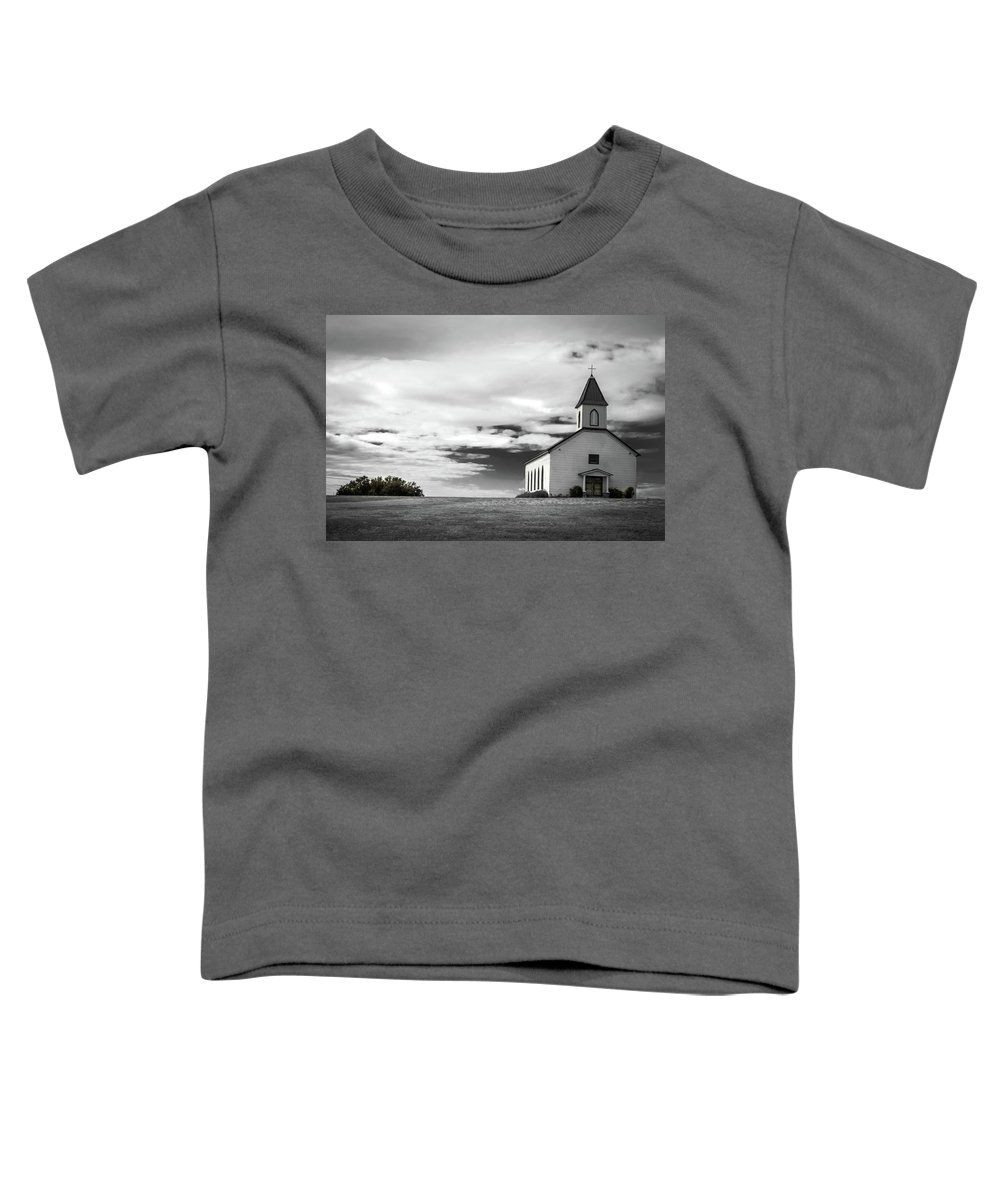 Church Toddler T-Shirt featuring the photograph Old church by Peyton Vaughn
