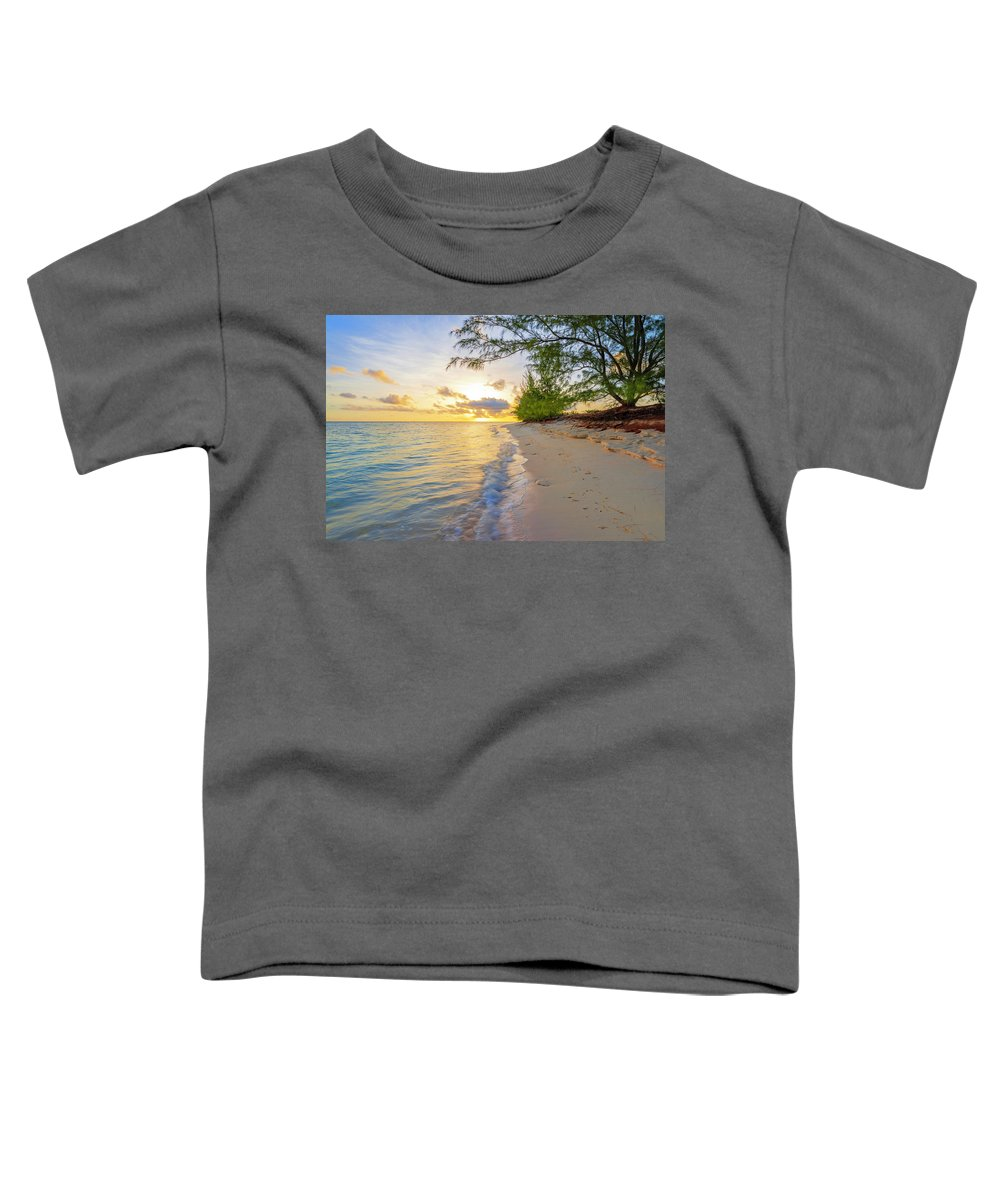 Atlantic Toddler T-Shirt featuring the photograph Pure Nature by Chad Dutson