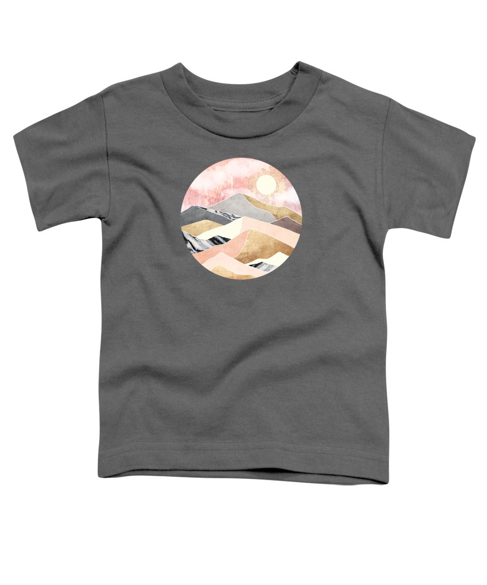 Summer Toddler T-Shirt featuring the digital art Summer Sun by Spacefrog Designs