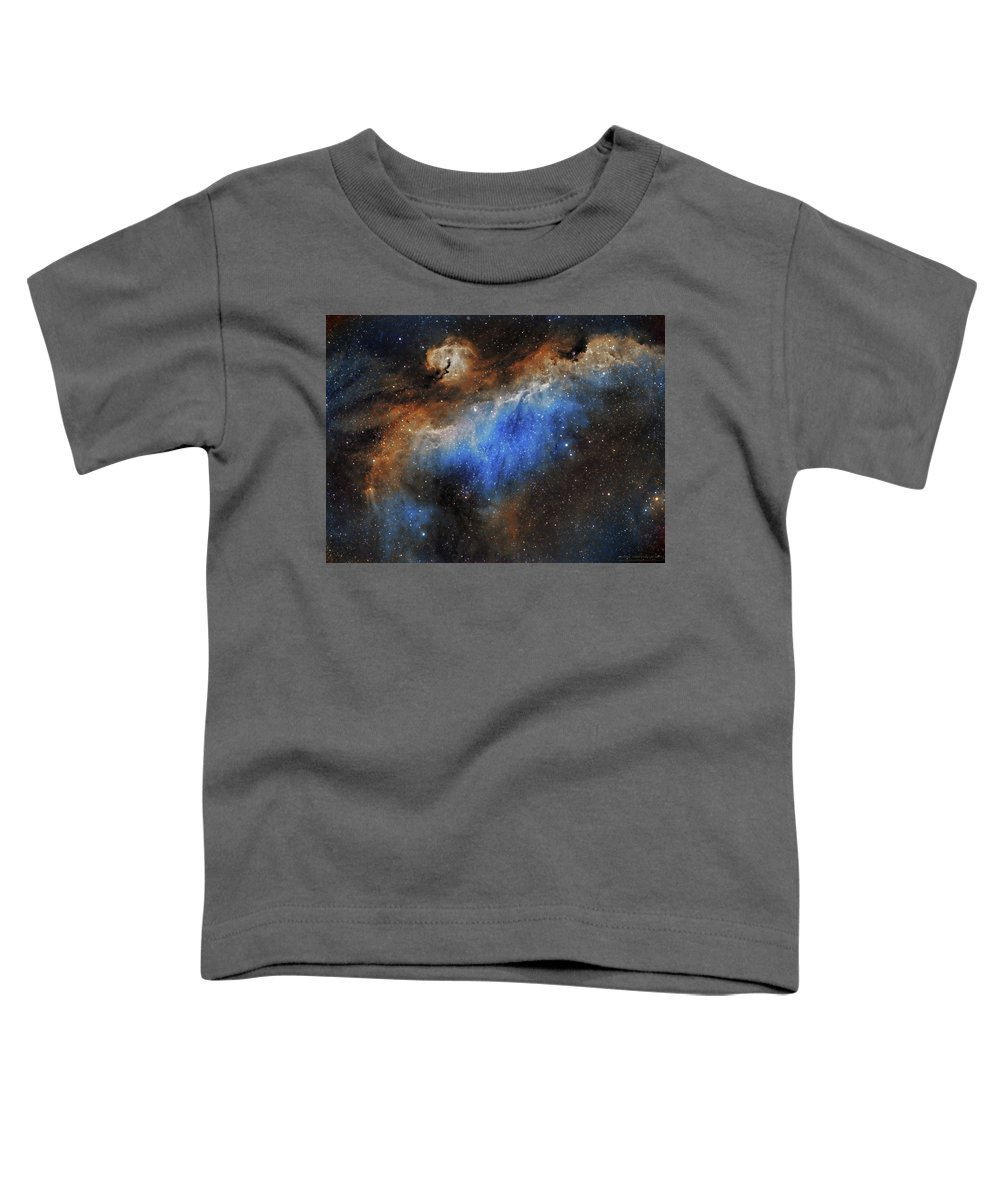 Astronomy Toddler T-Shirt featuring the photograph The Seagull Nebula by Prabhu Astrophotography
