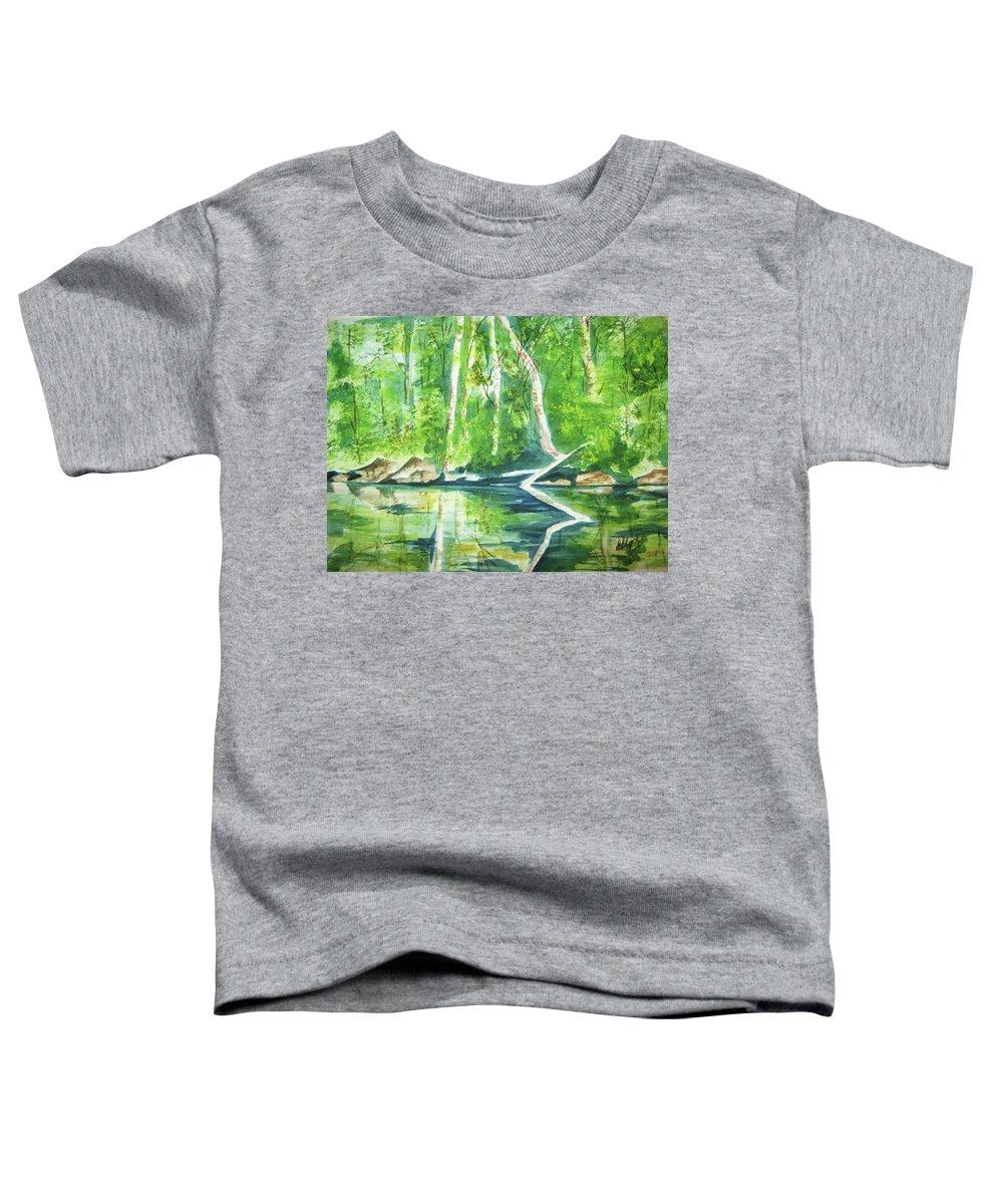 Adirondack Mountains Toddler T-Shirts