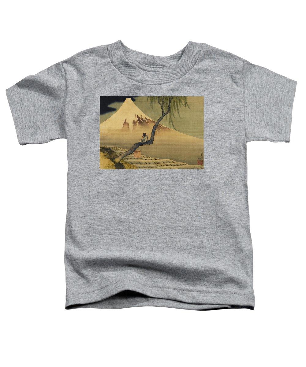 Thirty-six Views Of Mount Fuji Toddler T-Shirts