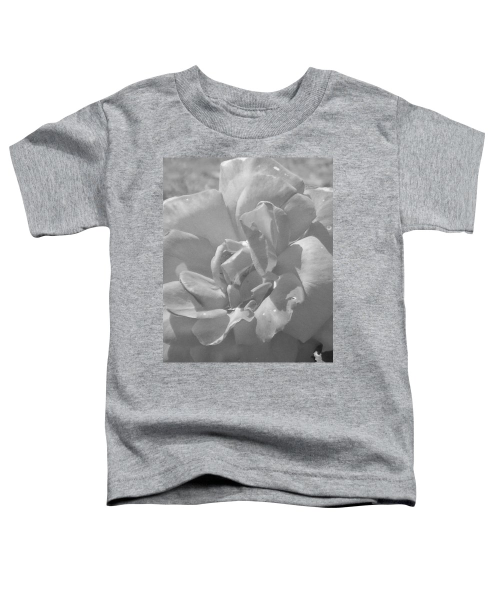 Rose Toddler T-Shirt featuring the photograph Dew Rose by Pharris Art