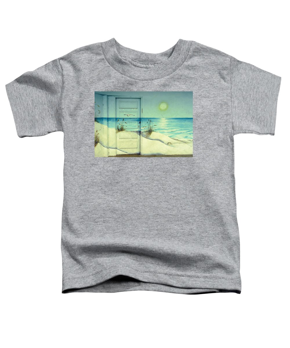 Architecture Toddler T-Shirt featuring the photograph Door Of Perception by Skip Hunt