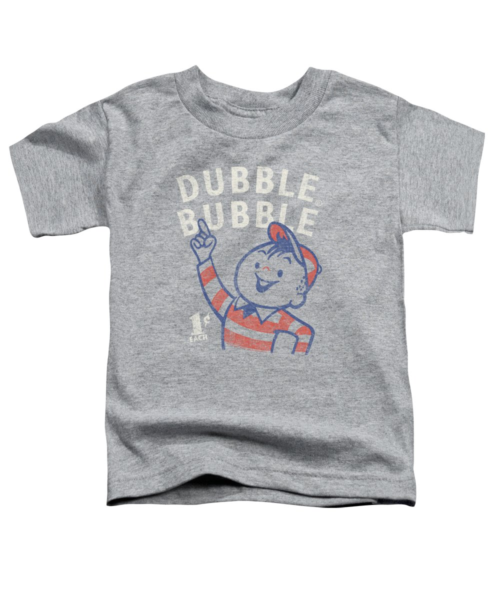 Dubble Bubble Toddler T-Shirt featuring the digital art Dubble Bubble - Pointing by Brand A