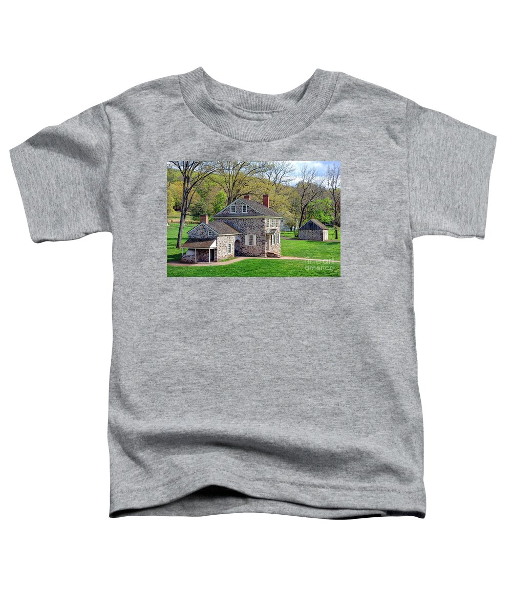 Valley Forge National Historical Park Photographs Toddler T-Shirts