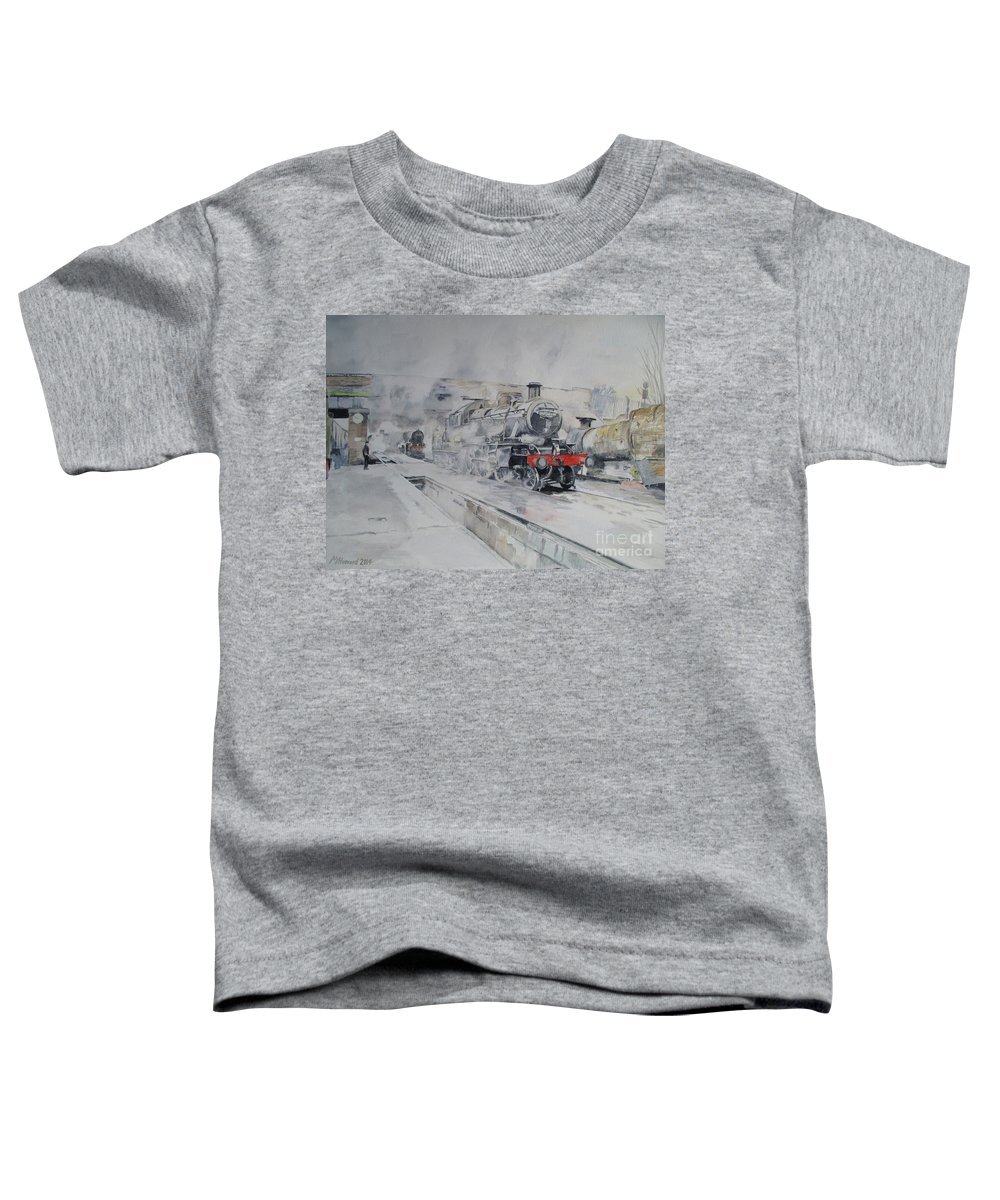 Great Central Railway Paintings Toddler T-Shirts