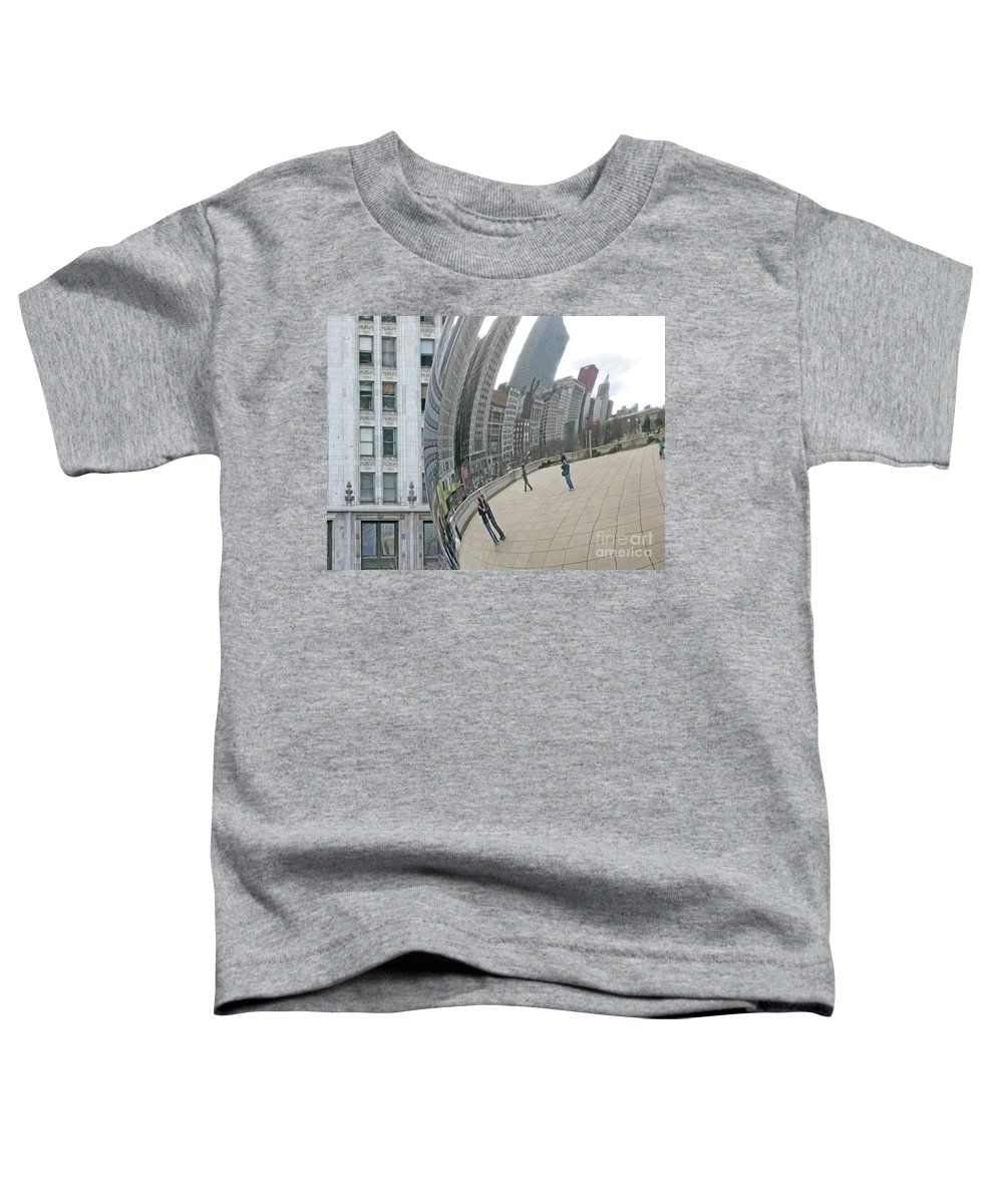 Chicago Toddler T-Shirt featuring the photograph Imaging Chicago by Ann Horn