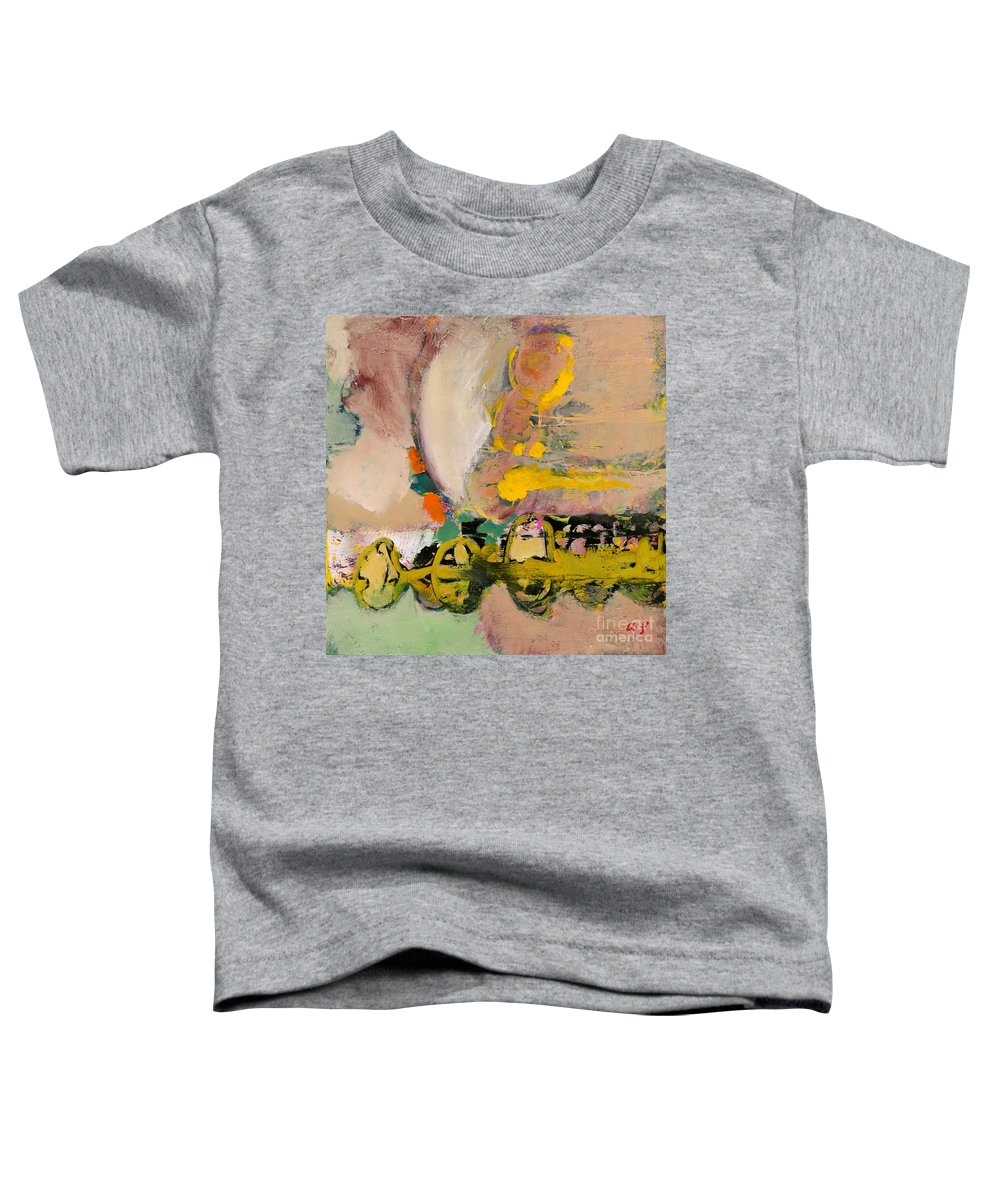 Landscape Toddler T-Shirt featuring the painting Locomotion by Allan P Friedlander