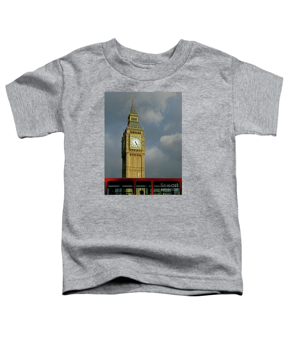 London Icons By Ann Horn Toddler T-Shirt featuring the photograph London Icons by Ann Horn