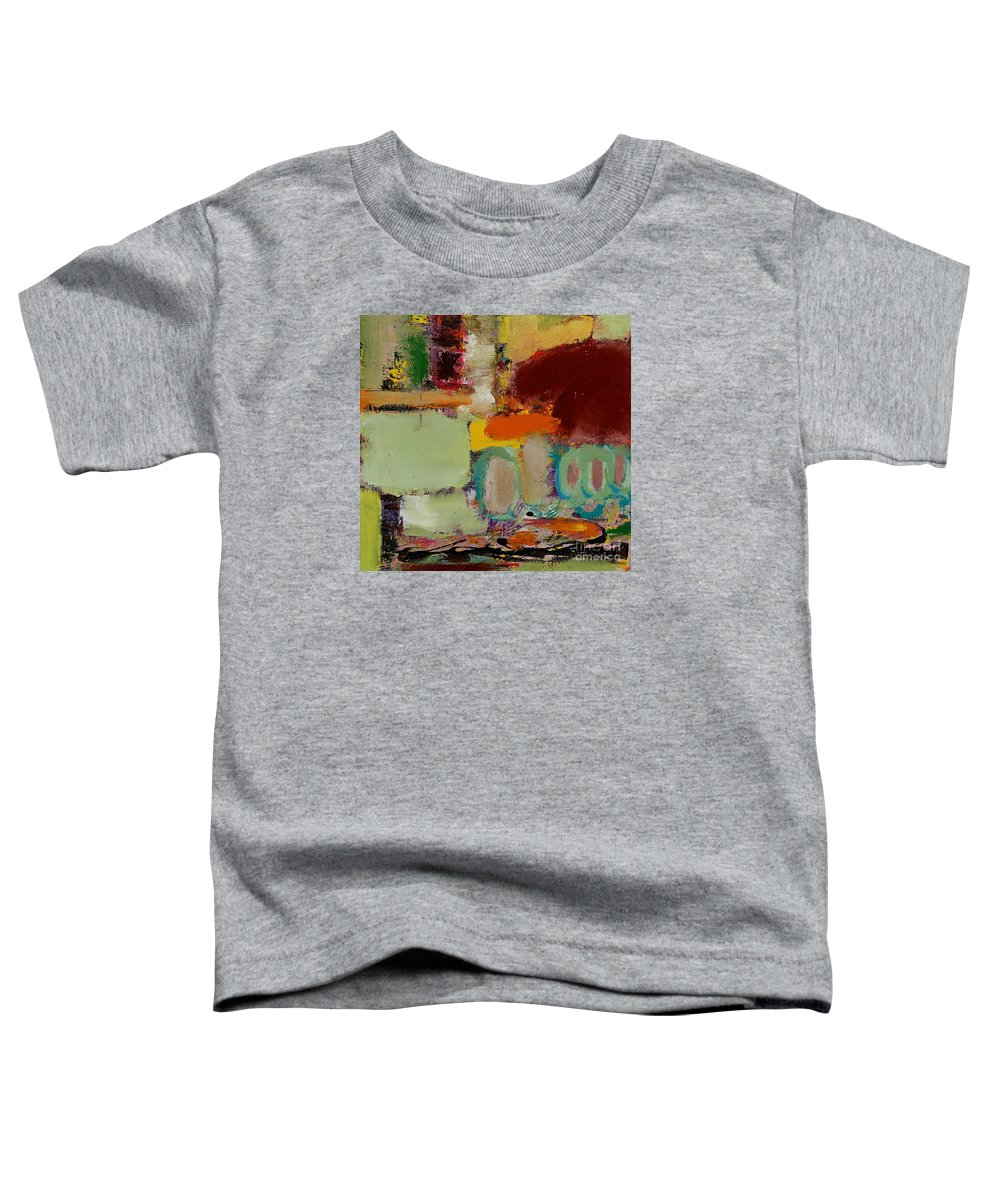 Landscape Toddler T-Shirt featuring the painting Over There by Allan P Friedlander