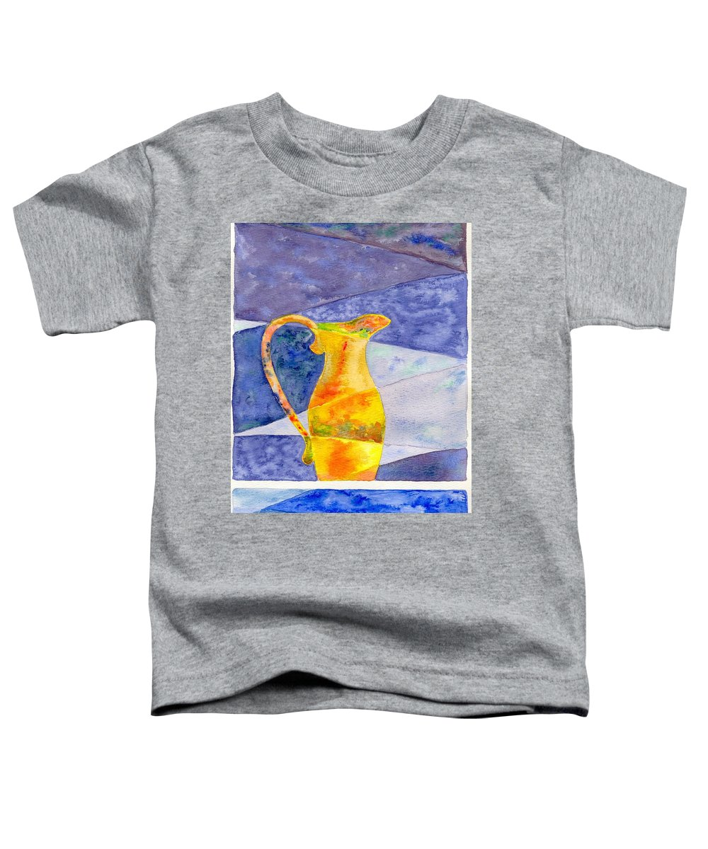 Still Life Toddler T-Shirt featuring the painting Pitcher 1 by Micah Guenther