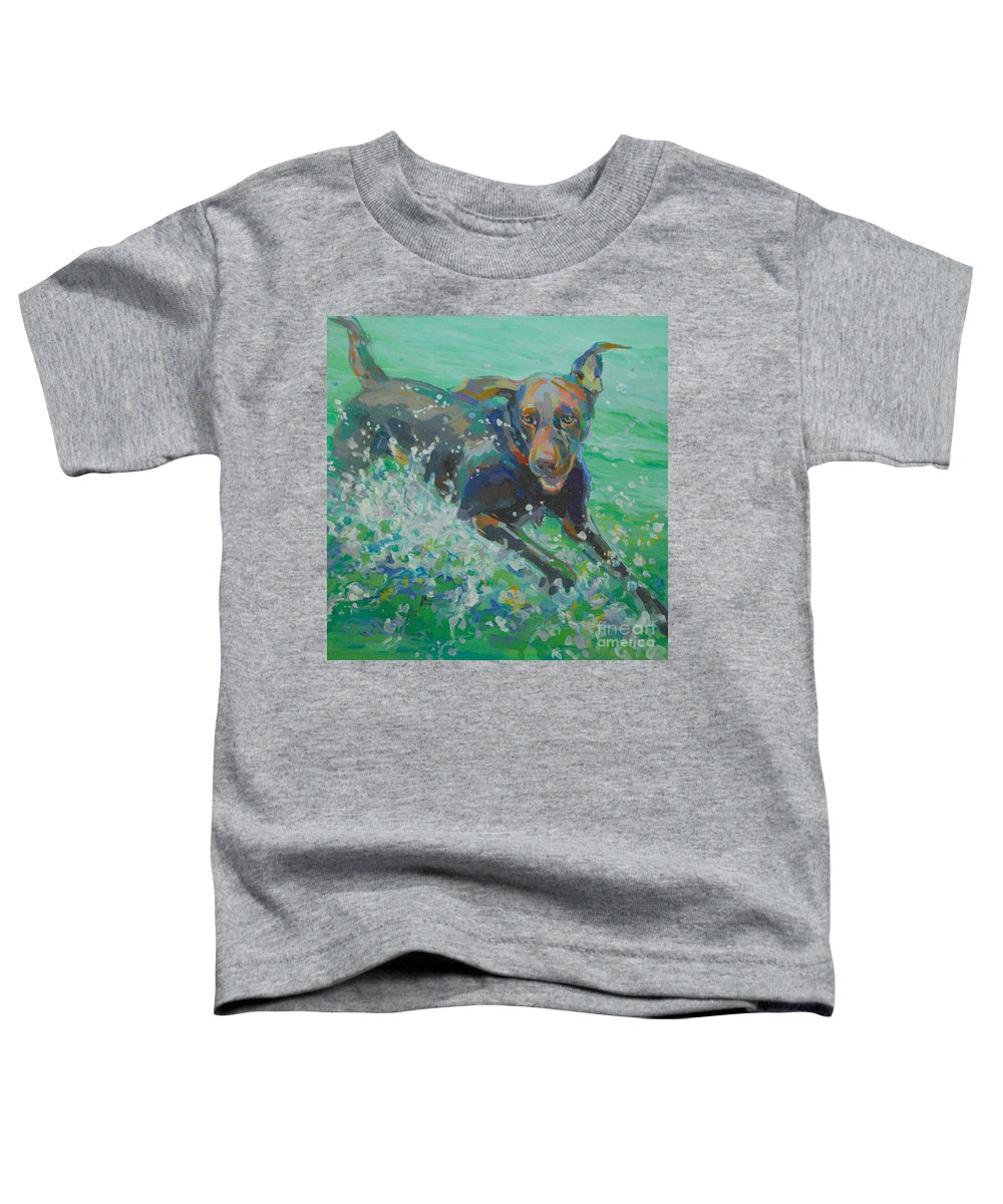 Water Droplets Paintings Toddler T-Shirts