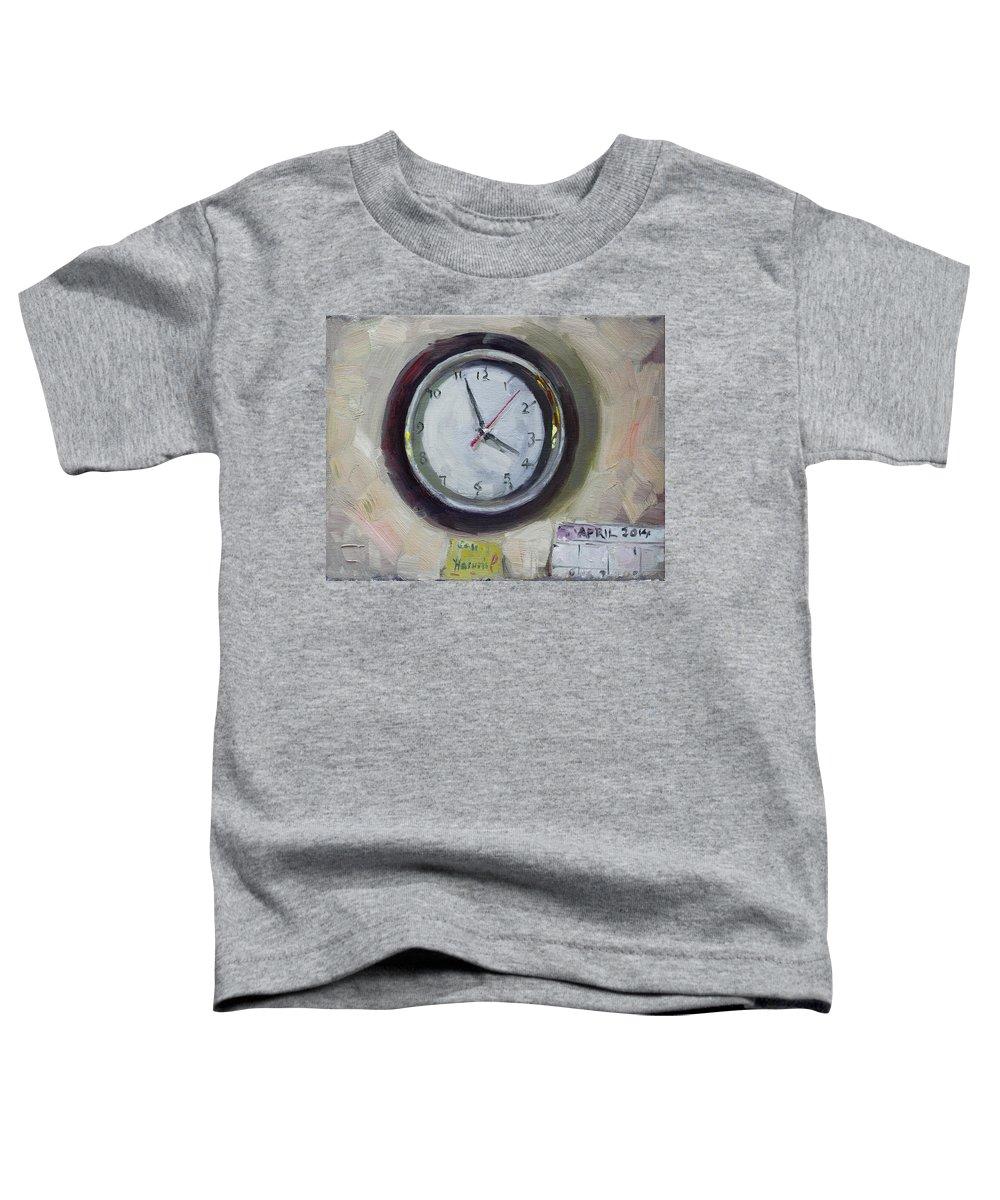 Clock Toddler T-Shirts