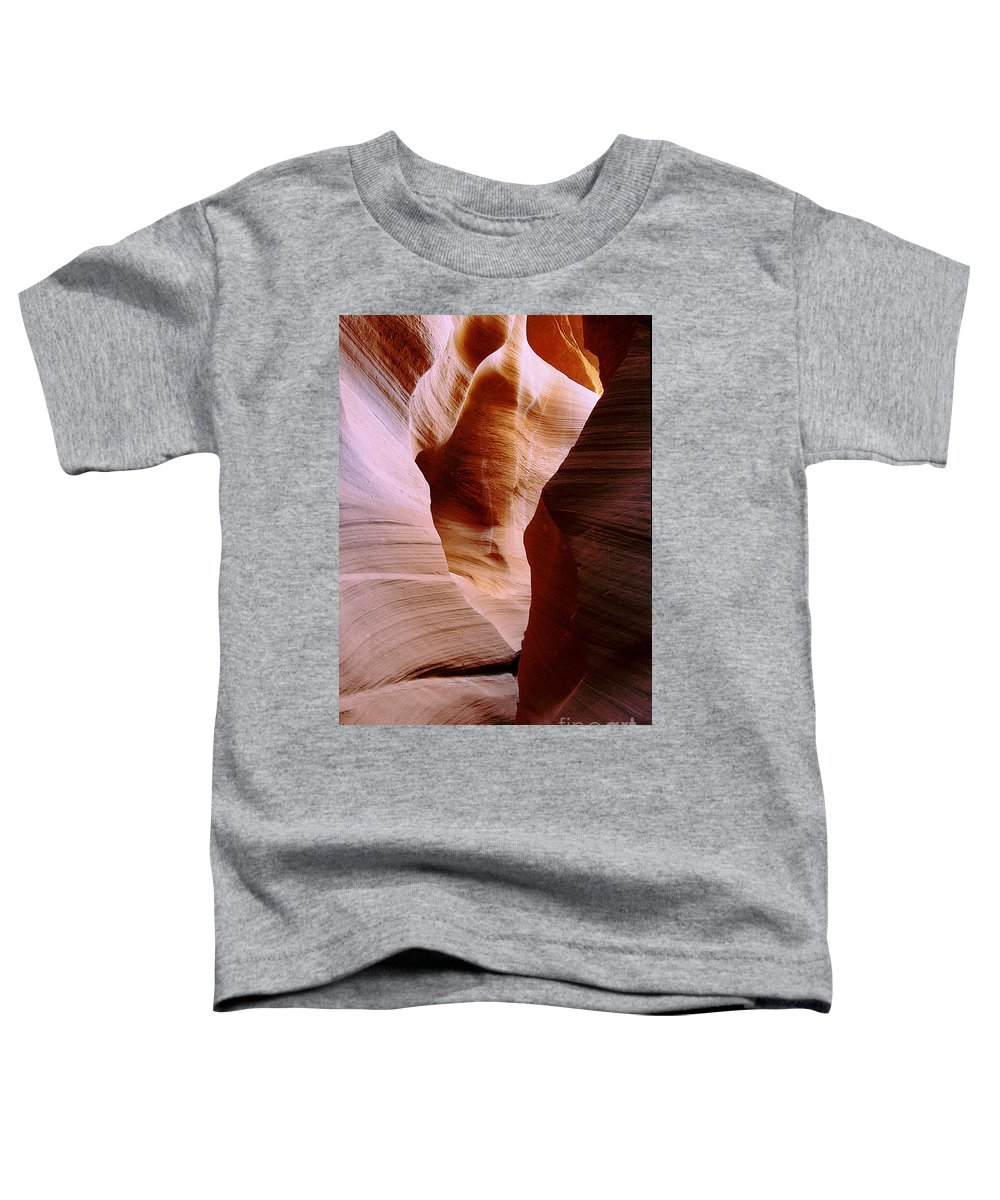 Antelope Canyon Toddler T-Shirt featuring the photograph Timeless by Kathy McClure