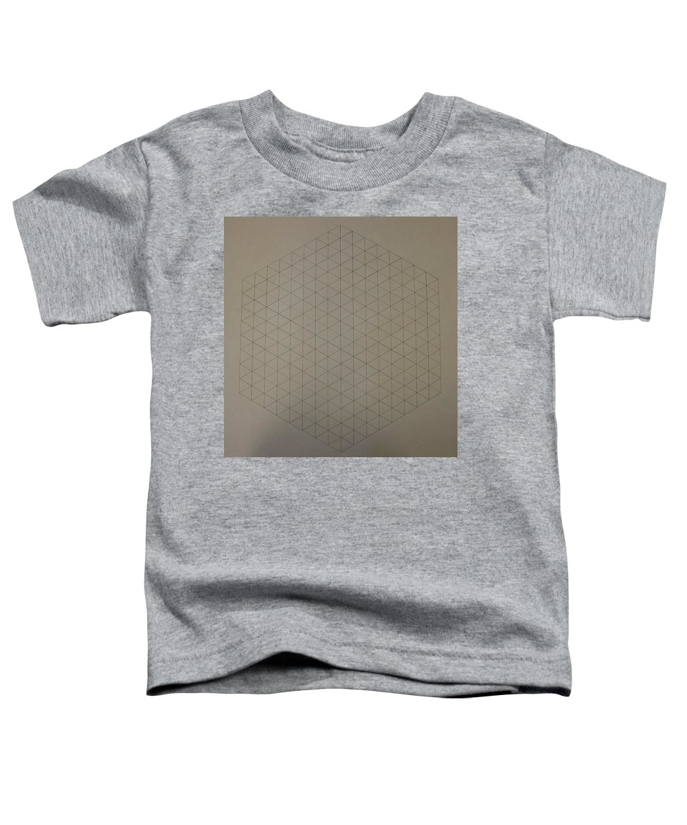 Math Toddler T-Shirt featuring the drawing Two To The Power Of Nine Or Eight Cubed by Jason Padgett
