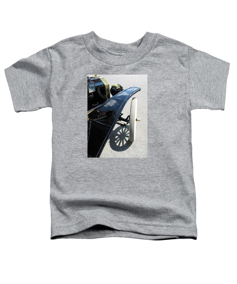 Model T Toddler T-Shirt featuring the photograph Vintage Model T by Ann Horn