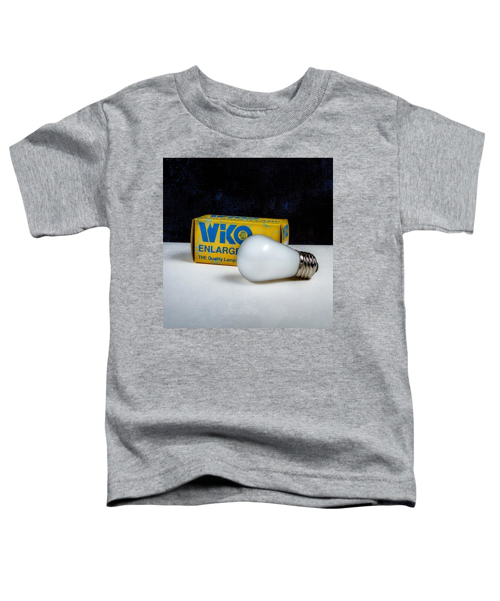 Box Toddler T-Shirt featuring the photograph Wiko Enlarger Lamp by Yo Pedro