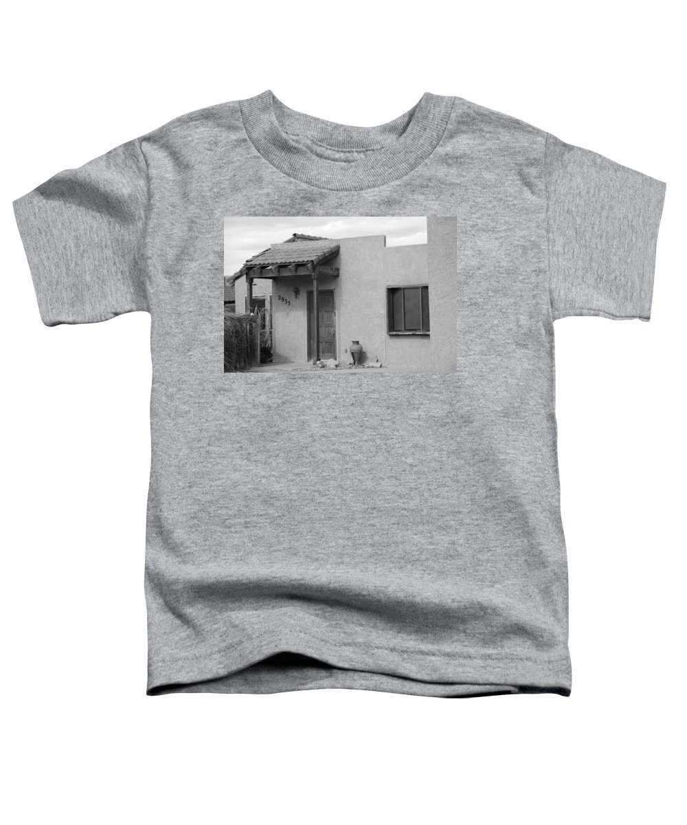 Architecture Toddler T-Shirt featuring the photograph Adobe House by Rob Hans