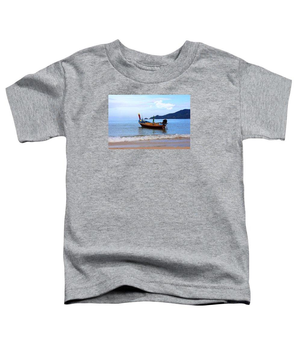 Phuket Toddler T-Shirt featuring the photograph Thailand by Mark Ashkenazi